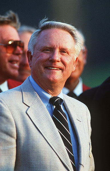 """7. Beman's Dream: As a young player on the PGA Tour, Deane Beman first discussed the concept of """"stadium golf"""" in the early 1960s with then-USGA czar (and future Tour Commissioner) Joe Dey. When Beman became Commissioner in 1974, he sought to establish a home course for the Tour pros, as well as a tournament to stand alongside the traditional four majors. Beman chose Pete Dye to execute his vision, because he had liked what Dye had accomplished on similarly flat, marshy land at Harbour Town."""