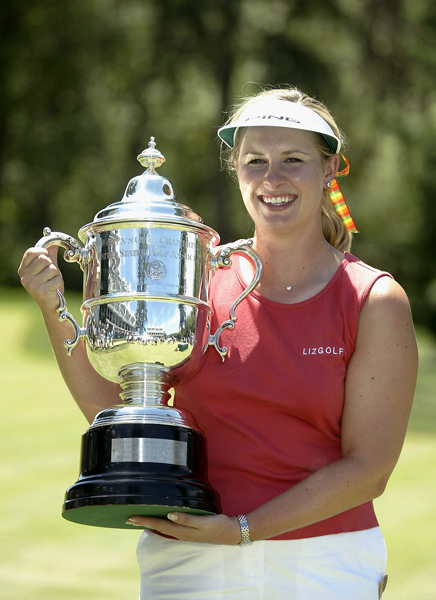 Biggest one-hit wonder: Hilary LunkeLunke beat Angela Stanford and Kelly Robbins in a playoff at the 2003 U.S. Women's Open. It was not only Lunke's only win and her only top-35 finish in a women's major, it was her only top-10 finish in any LPGA event, ever.