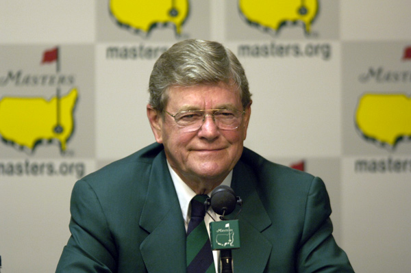 Biggest feud: Hootie Johnson and Augusta National versus Martha Burk In a battle about the club's lack of women members, Burk got all the headlines and Nightline interviews for months but lost the fight when Johnson made the Masters telecast sponsor-free, eliminating the weak spots where Burk hoped to apply pressure. When Burk could muster fewer than a hundred demonstrators in Augusta for the '03 tournament after months of tough talk, it was a virtual white flag.