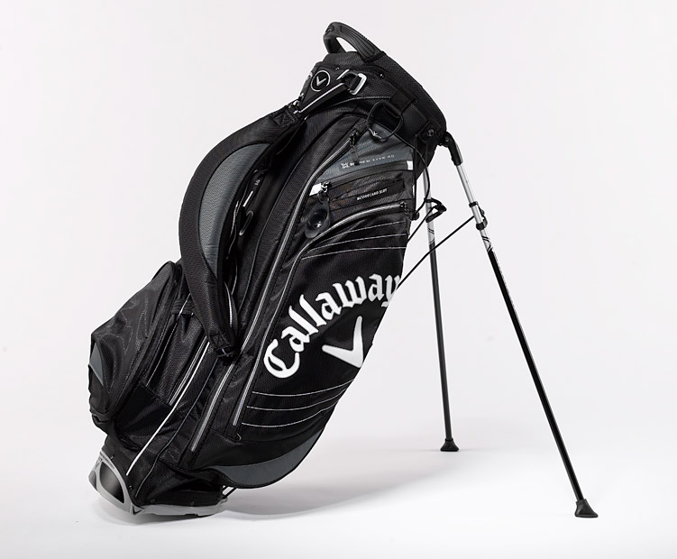 Callaway Hyper-Lite 4.0 Stand Bag                       Combining light-weight comfort with stability and 11 pockets worth of convenience, Callaway's Hyper-Lite 4.0 Stand Bag can help you take a load off the next time you decide to skip the cart. Order it from TGW.com by 3 p.m. EST on Thursday the 22nd for guaranteed delivery by Christmas.