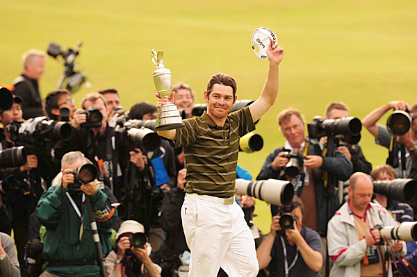 South African Louis Oosthuizen shocked the golfing world by winning the British Open at St. Andrews by seven strokes.