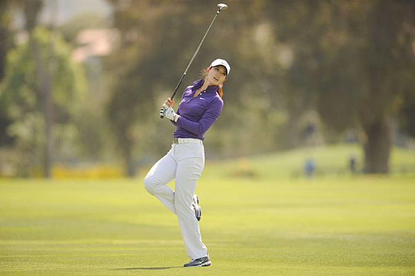 Michelle Wie during the LPGA Kia Classic.