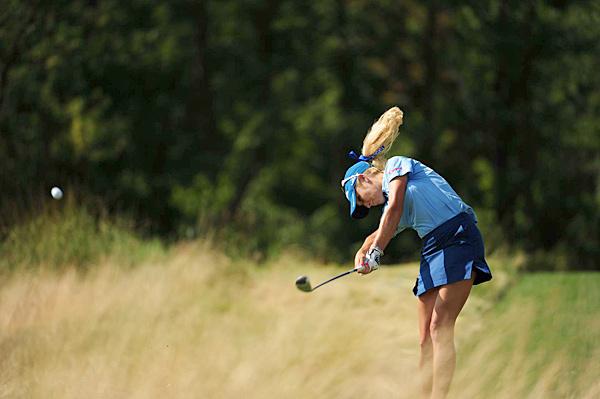 Natalie Gulbis at the U.S. Women's Open.