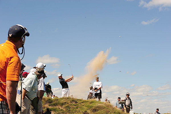 Nick Watney during the final round at Whistling Straits.