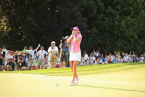 Paula Creamer                       Tournament: 2010 U.S. Women's Open                       Age:  23