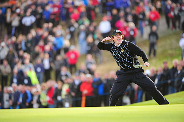 Rory McIlroy played well in his first Ryder Cup.