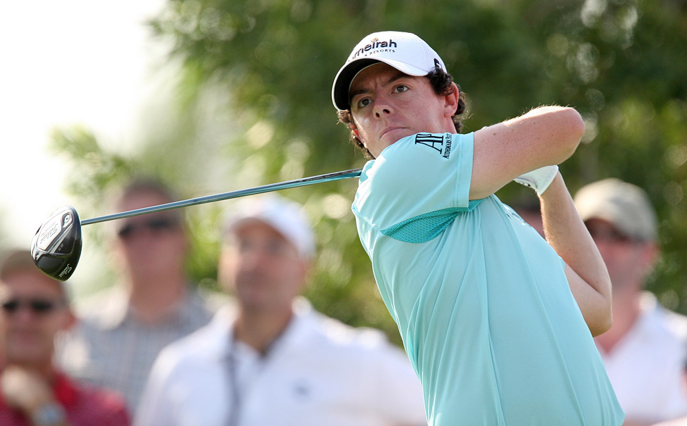 McIlroy shot an impressive six-under 66 to move into third place, two shots off the lead.