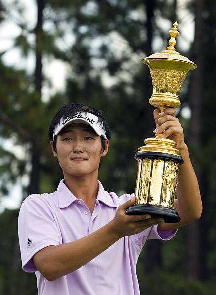 No. 5 Danny Lee                     New Zealand                     Born in South Korea but now a citizen of New Zealand,                     the 18-year-old Lee could be golf's Next Big Thing. A                     four-time winner in '08, he made 13 birdies in 32 holes on Pinehurst's                     formidable No. 2 course in his victorious U.S. Amateur final, won the                     prestigious Western Amateur and had impressive showings in two pro                     starts — an 11th at the Australian Masters and a 20th at the PGA Tour's                     Wyndham Championship.