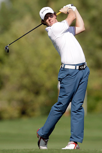 McIlroy made four birdies and three bogeys on the day.