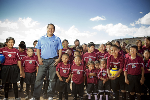 The Philanthropist: Four-time Tour winner Notah Begay, 37, is battling obesity and diabetes among Native American youths.