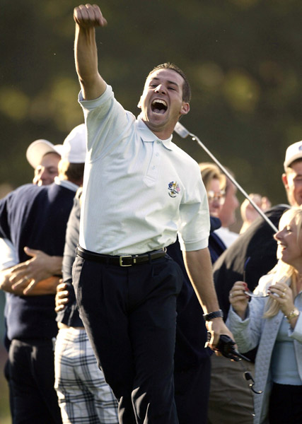 "10. United States of America vs. Sergio Garcia                        It began in earnest at the 2002 U.S. Open at Bethpage, where Garcia's endless waggling and complaints about playing in the rain drew taunts of ""Waggle Boy!"" and ""Whiner!"" from the vociferous galleries. Garcia responded with a flip of his middle finger. Five years later he upset fans by spitting in the cup at Doral, and his woe-is-me press conferences at the 2007 and '08 British Opens didn't help matters, either. But Garcia has most irked American fans at the Ryder Cup."