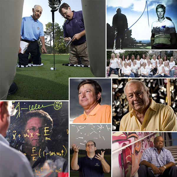 People who make a difference                                                         The Computer Wiz • The Entrepreneur • The Teacher •                   The Researchers • The Inspiration • The Supporters •                   The King • The Mind • The Providers • The Dreamer                                                         Golf's difference-makers come in two varieties:                   the kind of people who make you feel good                   about the game, and the kind of people who                   make you feel good about your game. We're                   grateful for both, and, it turns out, so are you.                                      Interviews by Connell Barrett and Steve Beslow                                                         A year ago we presented                   a list of the game's most                   important innovators.                   You received their                   stories so positively                   that we decided to do                   it again in 2008 — and                   believe us, the selection                   process was no easier                   this time around.                   For nominations, we                   solicited our friends                   at the USGA, the PGA                   Tour, the PGA of                   America, the National                   Golf Foundation and                   the World Scientific                   Congress of Golf, as                   well as our own Top                   100 Teachers, last                   year's finalists and you,                   our millions of loyal                   readers at Golf Magazine                   and Golf.com. After                   months of increasingly                   difficult decisions,                   we pared down                   hundreds of deserving                   nominees to these 10                   remarkable honorees.                   Did we miss a worthy                   innovator? Drop us a                   line at golfletters@golf.com. Our search for                   next year's winners                   has already begun.