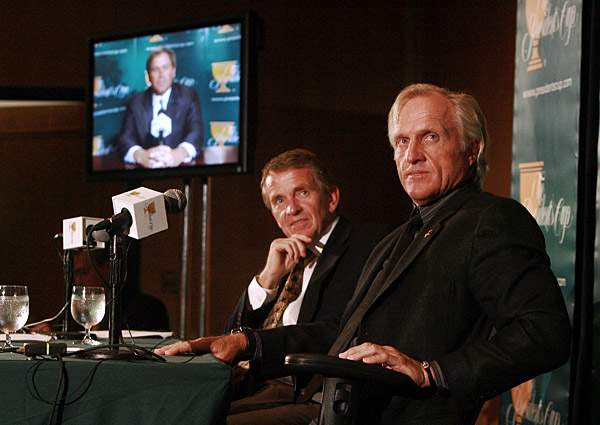 "6. Greg Norman vs. Tim Finchem                        Norman and Finchem, the PGA Tour commissioner, first butted heads in 1994 after Norman announced plans for his World Golf Tour. Finchem quickly torpedoed the deal, lining up A-list players to denounce the idea. Three years later, Finchem started his own iteration of Norman's brainchild — the World Golf Championships — leading Norman to threaten to sue the Tour to force it to reveal its financials to its membership. ""Never will I forgive Tim Finchem,"" Norman said in 2004, ""even if he inducts me into a Hall of Fame once a week."""