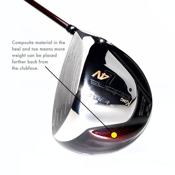 "Cobra L4V                     It's for: All players                     This may be Cobra's longest                     and most forgiving driver ever.                     The L4V is at the conformance                     limit for four variables: size (460                     cc), moment of inertia (5,900),                     COR (0.83) and dimension (5"" x                     5"", heel to toe and face to                     rear). To hit its mark, LV4 has a                     titanium body with 50-gram                     tungsten back weight and a                     lightweight composite in the                     crown and sole. The crown                     weighs just half of what it                     would in titanium. The milled                     face insert has a dual rhombus                     pattern to maximize ball speed                     across a larger area of the                     clubface.                     $399, graphite;                     cobragolf.com                     Tell us what you think and see what other GOLF.com readers said about this club."