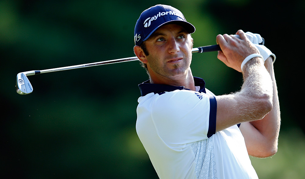 Dustin Johnson made five birdies and a bogey for a 67.