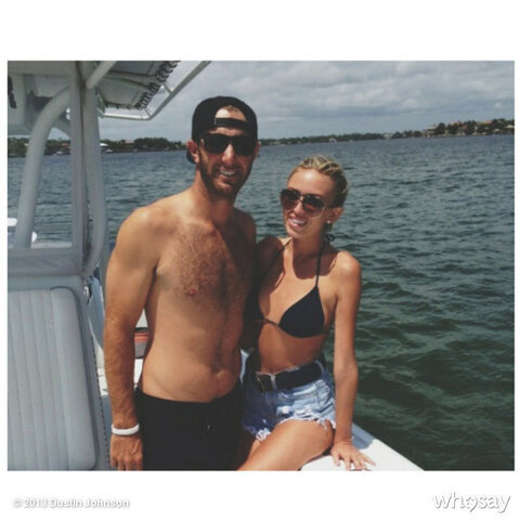 @DJohnsonPGA: On the boat, I love you @PaulinaGretzky