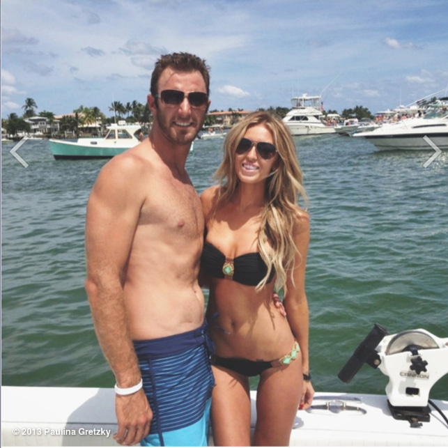 @PaulinaGretzky: Peanut Island with my love @DJohnsonPGA
