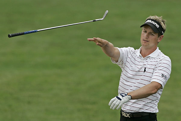Luke Donald was one of many unhappy golfers at the 2007 U.S. Open at Oakmont.