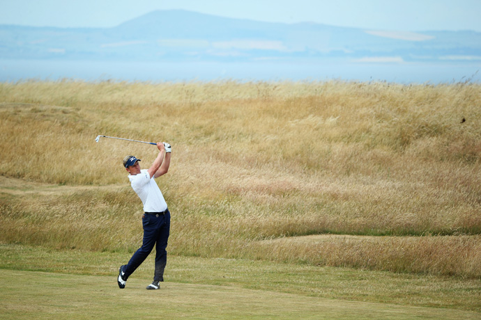 Luke Donald tied for fifth at last year's Open Championship.