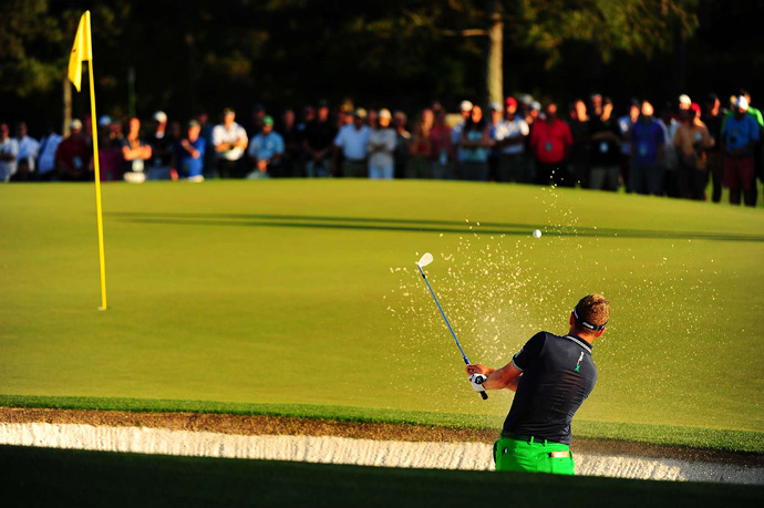 Luke Donald finished at one under par after a 72.