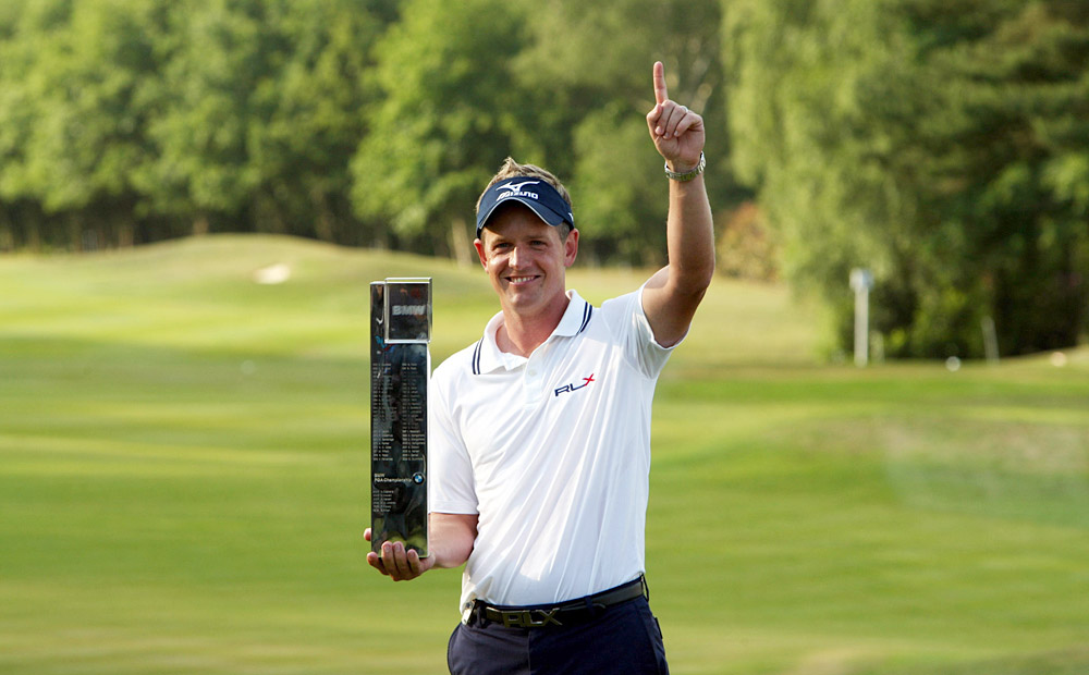 COOL HAND: Who's No. 1? Luke Donald answered the question by knocking off then No. 1 Martin Kaymer in the Accenture Match Play final in February and Kaymer's successor, Lee Westwood, at the Euro tour's PGA Championship in May.