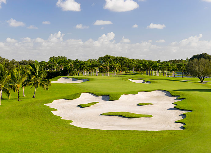 Trump National Doral (Blue Monster) Miami, Fla.; Dick Wilson/Gil Hanse (1961/2014) -- $235-$450, trumpgolfdoral.com