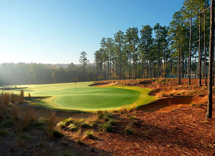 53. Dormie Club West End, N.C.; Bill Coore/Ben Crenshaw (2010) -- $75-$215, dormieclub.com