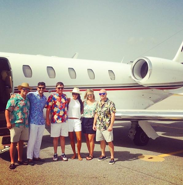 Headed to the Bahamas...NOT. #goawayhurricane #partyanyways @slsteph @danamx2 @jakeanderson88 @brettadams7