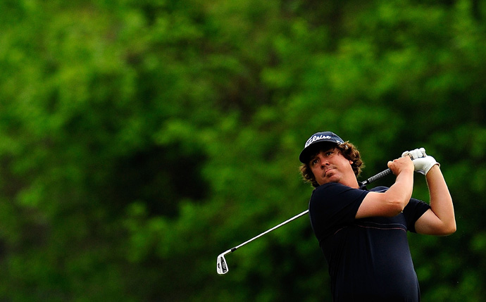 Jason Dufner made seven birdies and two bogeys for a five-under 67.