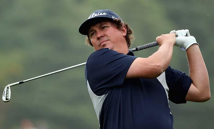 """Lucky.""                       --Jason Dufner on Keegan Bradley and the 2011 PGA Championship. Dufner lost the 2011 PGA to his friend Bradley in a playoff."