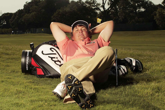 "Jason Dufner: The Duf is the epitome of the ""everyman."" With his favorite meal consisting of cheese sticks, buffalo wings and three Cokes, the Duf is could be your local club champion as easily as he is your PGA Champion. He's rabid about his alma mater, the Auburn Tigers, and even with his stoic demeanor on the course, he's one of the biggest practical jokers on Tour. He's even got a street named after him in Auburn, Alabama (Jason Dufner Drive.) And we haven't even gotten to 'Dufnering' yet!"