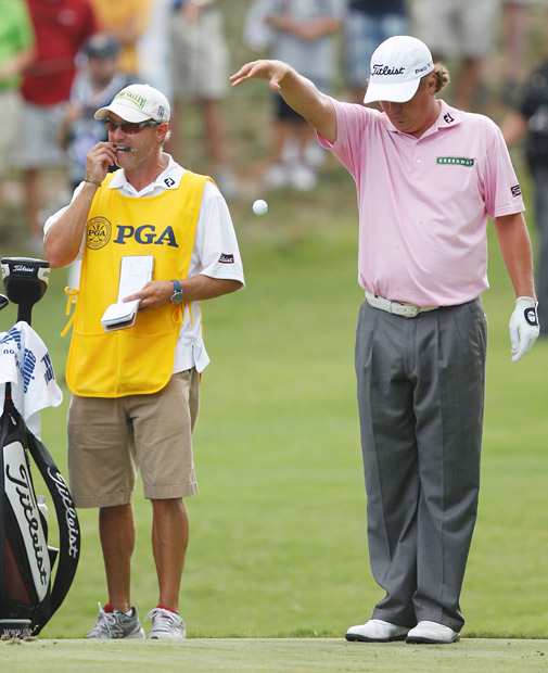 Jason Dufner, PGA Championship: On the 15th tee, Dufner was four shots ahead of the field and five shots ahead of Keegan Bradley, who had just made a triple-bogey six at the 15th. Dufner made bogeys at 15, 16 and 17 before losing a three-hole playoff to Bradley.