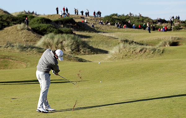 Fellow Northern Irish Ryder Cupper Rory McIlroy did not fare as well, shooting one under for a tie for 64th.