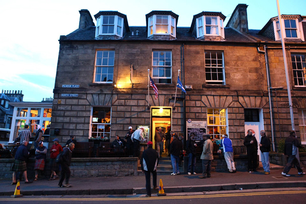Dunvegan Hotel Lounge Bar                       St. Andrews, Scotland