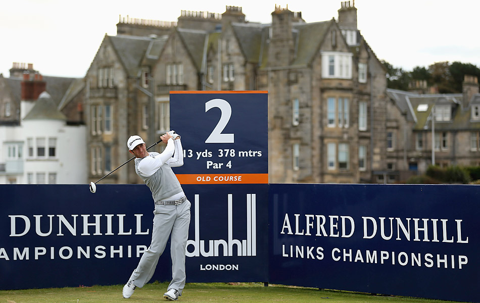 Dustin Johnson is back in action at the Dunhill Links, fresh off an impressive performance at the Ryder Cup.