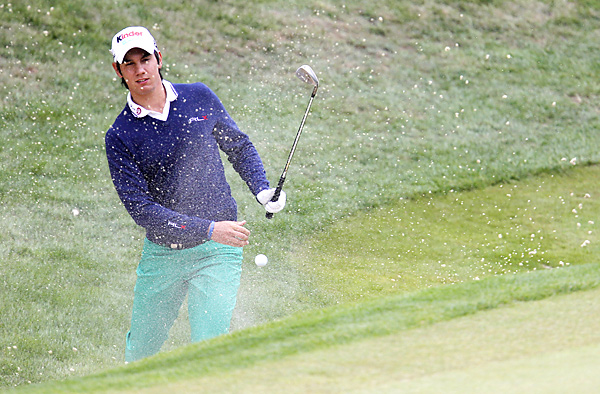 was tied for the lead entering the final round. The 18-year-old shot a 75 to tie for seventh.
