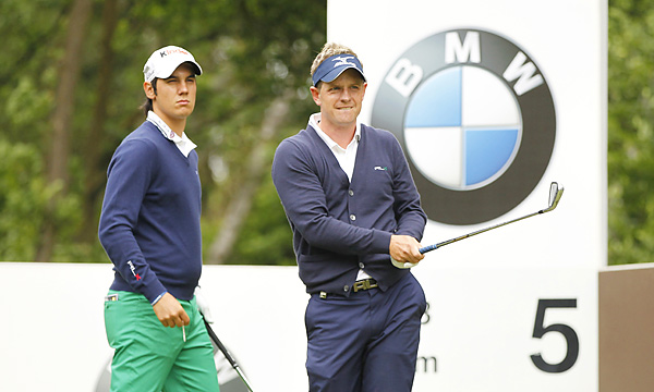 Mannasero and Donald played together in the final group.