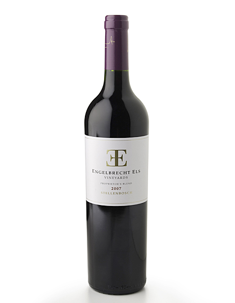 Duffy's rating: * * * * 1/2                   The 2007 Engelbrecht-Els Proprietors Blend is an exotic blend of 6 grapes. Aromas of cedar, olive and rosemary give way to big mid palate finishing with smooth tannins. This wine will also improve with some bottle age.