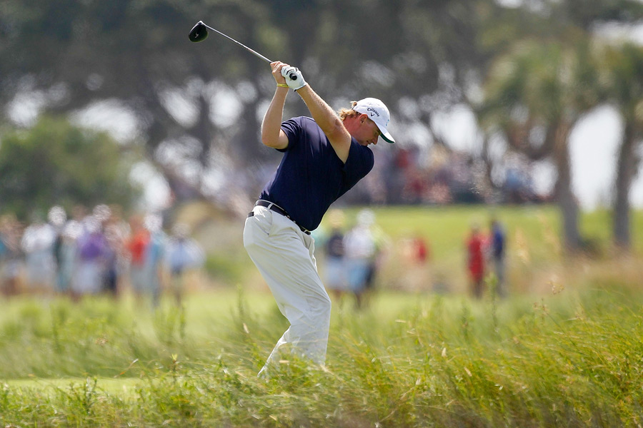 British Open champ Ernie Els made three bogeys and two birdies for a 73.