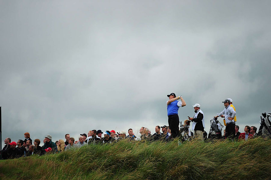 Ernie Els, the eventual champion, during the first round on Thursday.