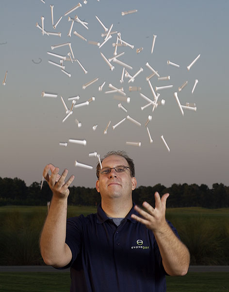 "The Entrepreneur                   • BJ Maloy, 35, inventor of the Epoch tee, a performance peg                   with an eye on the environment                   ""I know what you're thinking: 'Just another gimmicky tee — what                   makes this one any different?' Well, for starters, its success on the                   PGA Tour — 33 Tour wins since 2004. The physics are simple:                   The tee's four radius posts span the dimples, removing the                   friction and deflection created by a standard tee. This promotes                   faster ball speed, less sidespin and longer tee shots — up to 12                   extra yards, according to testing with real golfers. The only way                   you could create less friction would be to have your ball actually                   hovering over the ground. Obviously test results are only useful if                   they are backed up in the real world, which is why our success in                   the pro game has been so important — we also have 73 wins on the                   LPGA, Nationwide and Champions Tours. Another bonus: the                   tee is built entirely from recycled and renewable materials and is                   completely biodegradable, so it won't damage the environment.                   Changing golf equipment isn't easy — the modern wood tee was                   invented in the 1890s, but it wasn't until 30 years later that most                   people stopped teeing it up on sand mounds. When I showed up                   with my tee on the PGA Tour they laughed at me. After 106 tour                   wins in four years, they're not laughing anymore."""