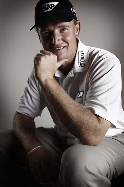 Ernie Els portrait for the 50th anniversary issue of Golf Magazine, March 2009.
