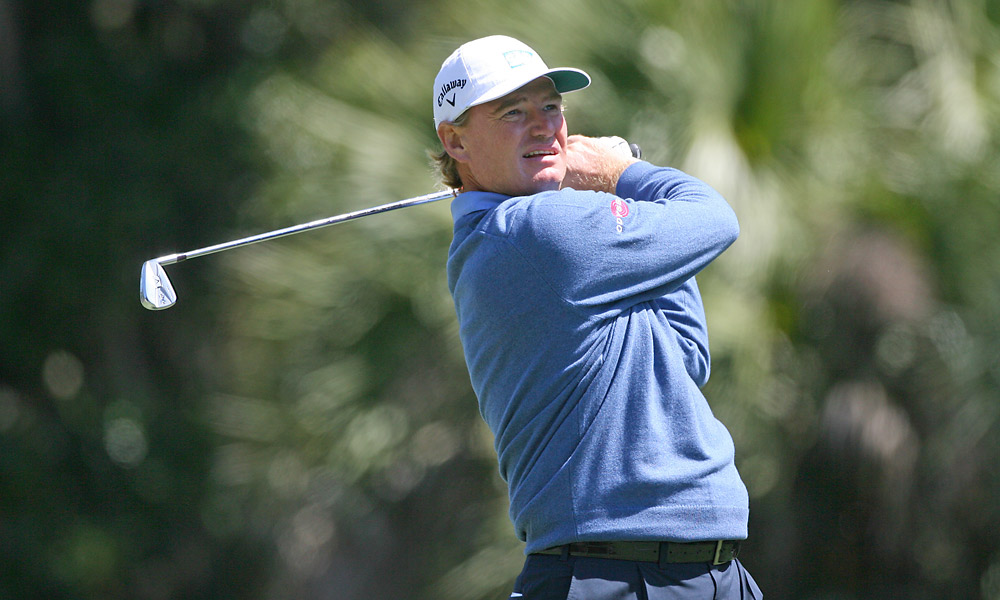Ernie Els, who did not make it into the field at last week's Masters, finished at one over.