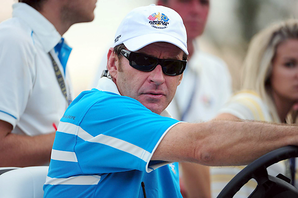 "When U.S. Ryder Cup captain Paul Azinger said Faldo had been ""a p____"" (rhymes with Nick) during his career as one of the game's pre-eminent technicians, Azinger was speaking for many whom Faldo rubbed the wrong way. The princely Englishman fired his swing coach, David Leadbetter, by fax. Faldo was so self-absorbed as a player, Mark Calcavecchia said famously, ""Playing with Nick Faldo is like playing by yourself — only slower.""Nick Faldo                                           When U.S. Ryder Cup captain Paul Azinger said Faldo had been ""a p____"" (rhymes with Nick) during his career as one of the game's pre-eminent technicians, Azinger was speaking for many whom Faldo rubbed the wrong way. The princely Englishman fired his swing coach, David Leadbetter, by fax. Faldo was so self-absorbed as a player, Mark Calcavecchia said famously, ""Playing with Nick Faldo is like playing by yourself — only slower."""