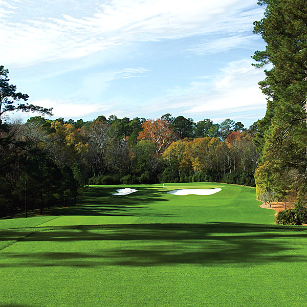 The 5 scariest Masters shots you don't know                                          Since no one knows the course better than he does, we asked CBS's lead golf analyst to take us on a tour of Augusta's other defining shots. Read on for our insider's guide to the death zones where this year's contenders are likely to lose their cool, and their game.                                                               Since Faldo's looking down from the booth, we doubled up with someone on the ground and got a younger Brit's perspective. Likely contender Luke Donald weighs in on each of the Faldo-designated danger zones  he'll face this year (like No. 4, shown here).