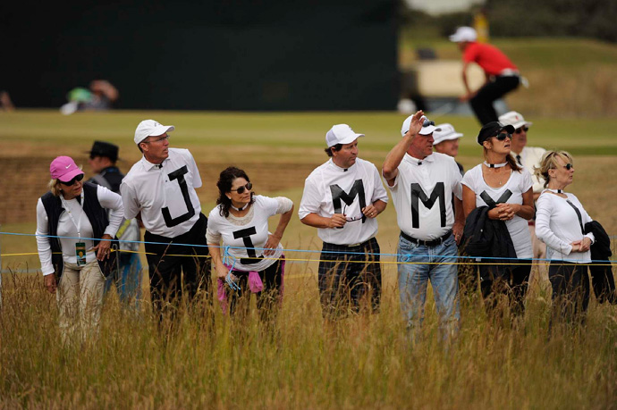 Jimenez is always popular with the fans.