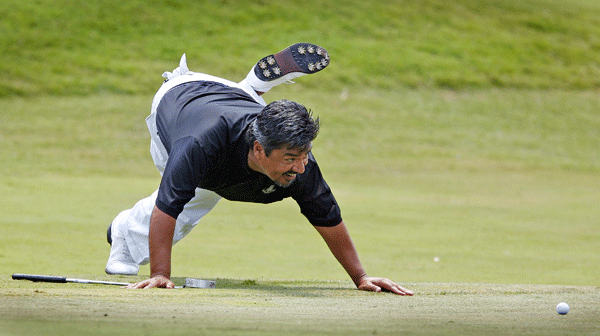 George Lopez                       Actor, comedian                       Pro Partner: Notah Begay III