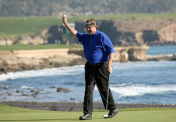 "Lowery made a birdie on the first playoff hole, the famous 18th at Pebble Beach. It was his first victory since 2000. ""It's not a matter of him giving it to you, it's a matter of are you going to go out there and win it,"" he said. ""I knew that going out there. He's a tough competitor."""