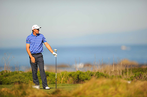 Padraig Harrington dropped out of contention after a 3-over 73.