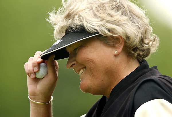 5. Laura Davies                     	 A big English gal with a huge appetite for life, Davies has crammed five decades worth of fun into a 22-year pro career. The longest hitter in women's golf for much of her career, she anticipated John Daly's grip-it-and-rip-it approach. Reckless play has probably cost Davies a few titles — she has 68 world-wide wins, including four majors — but a play-it-safe Laura wouldn't be half as entertaining. Davies also collects cars, plays pro soccer with men, risks the odd pound at Ladbrokes, and guzzles Guinness like a Dubliner.